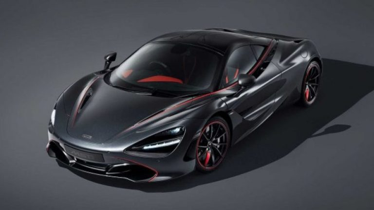 McLaren MSO 720S Stealth Edition Revealed