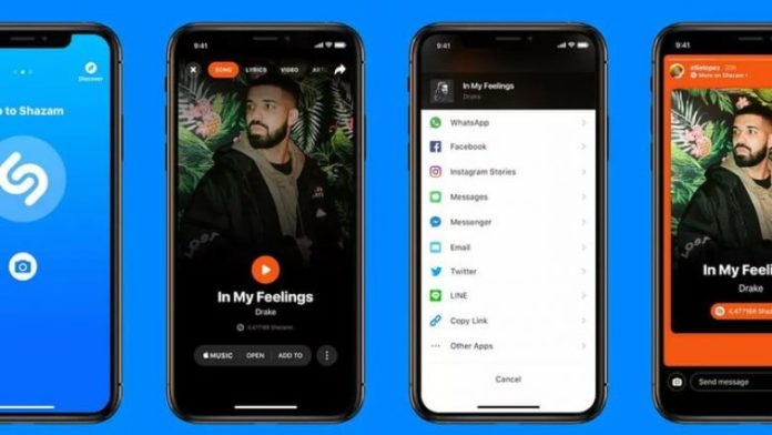 Shazam collaborates with Instagram for a new way of sharing songs