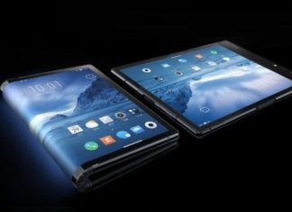 The first foldable smartphone debuts, brings a 7.8-inch AMOLED screen
