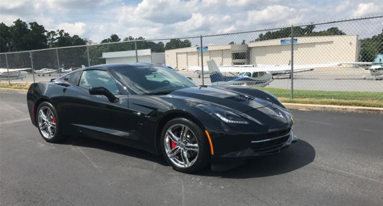 2018 Corvette Stingray Sports Car