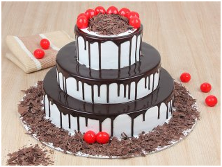 The Tiered Cakes