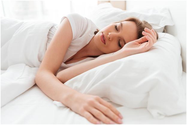 Improve your sleep habits