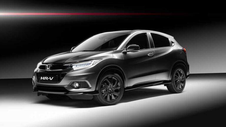 2019 Honda HR-V Sport SUV With 180 HP Revealed