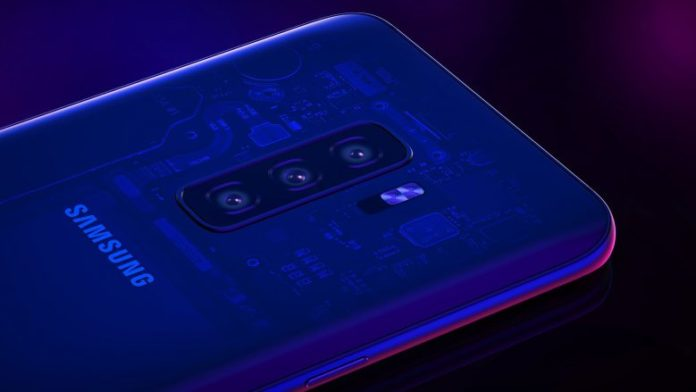 Galaxy S10 may have an extra screen on the back