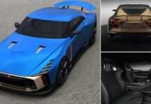 Nissan and Italdesign brings the special model GT-R50