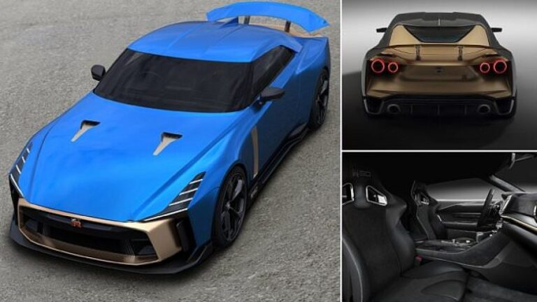 Nissan and Italdesign brings the special model GT-R50 (Photo/Video)