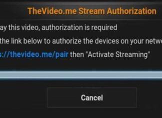 How To Fix https://thevideo.me/pair & vidup.me/pair Error On Kodi