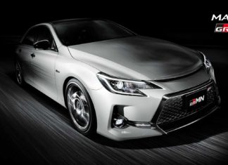 2019 Toyota Mark X GRMN Limited Edition Revealed - Only 350 Units