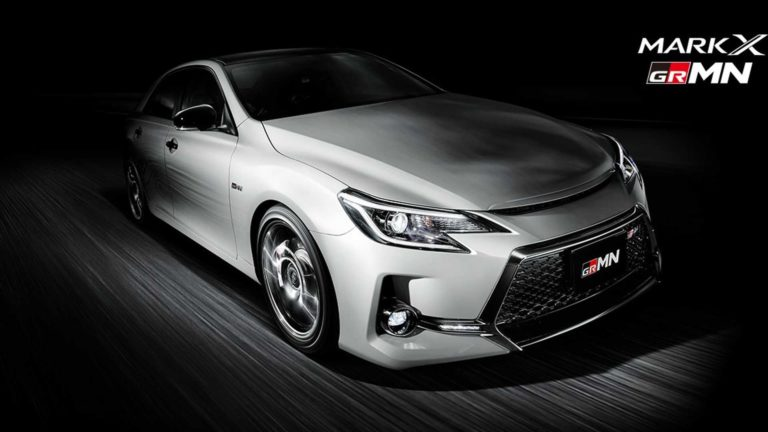 2019 Toyota Mark X GRMN Limited Edition Revealed – Only 350 Units