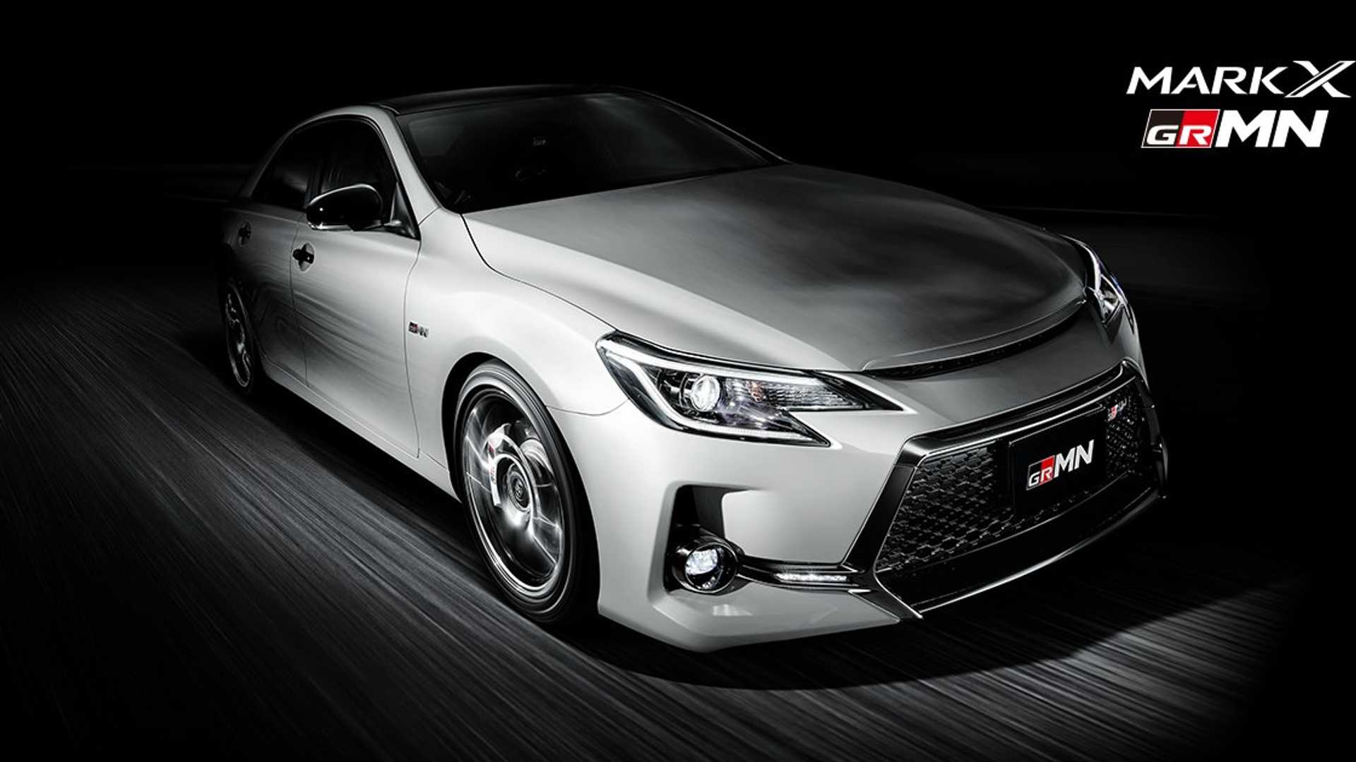 2019 Toyota Mark X GRMN Limited Edition Revealed - Only