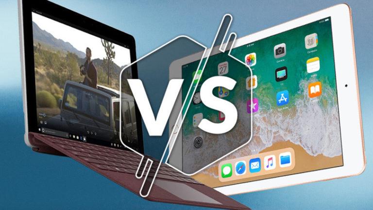 Surface Go vs. iPad