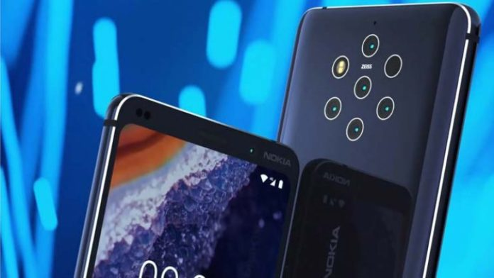 A promotional video shows Nokia 9 with 5 cameras on the back