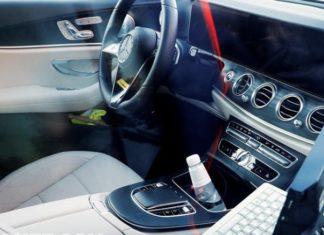 First images inside Mercedes E-Class 2020 (Photo)