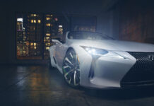 Lexus LC Convertible Concept Revealed (Photo)