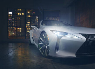 Lexus LC Convertible Concept Revealed (Photo)