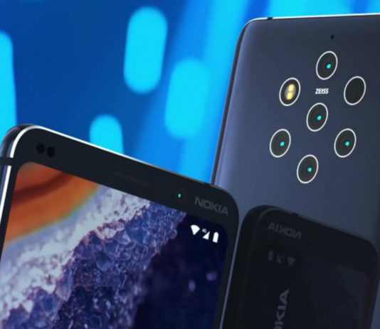 Nokia 9 Pureview. Image: Twitter/Evleaks