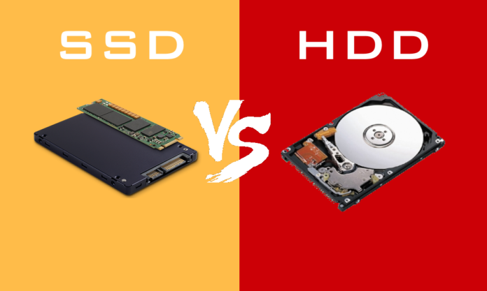 SSD, that's why it turns on old and sluggish PC into life
