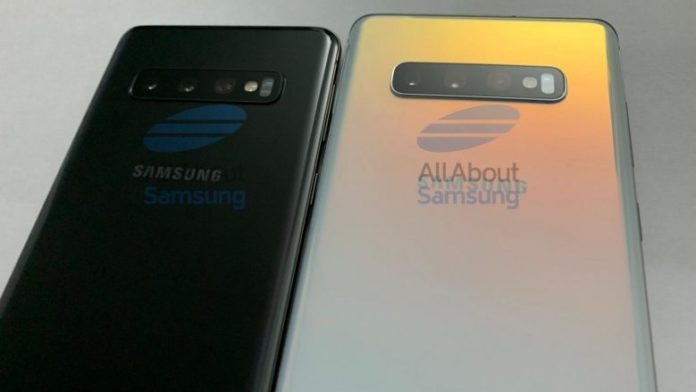 The Galaxy S10 and S10 + are seen again in the new pictures