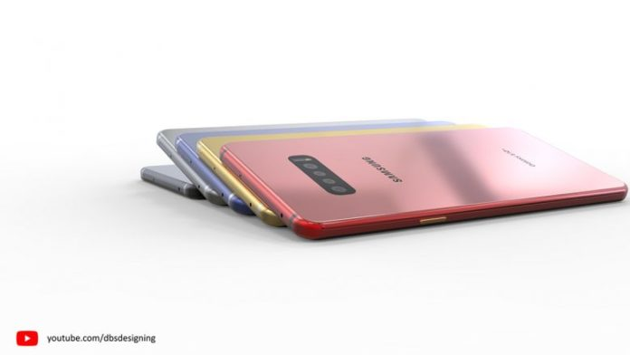 The Galaxy S10 looks amazing in the new concepts