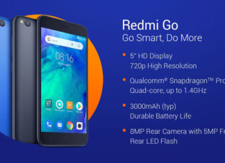 Xiaomi Redmi Go with 5 inch Display, Snapdragon 425 SoC Launched