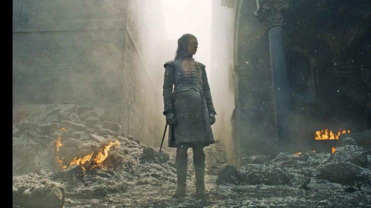 game of thrones season 8 episode 5 wallpaper arya 1