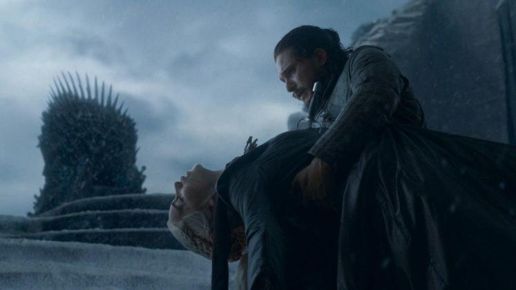 game of thrones season 8 episode 6 jon daenerys dead wallpaper