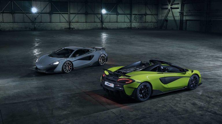 2020 McLaren 600LT Spider Revealed