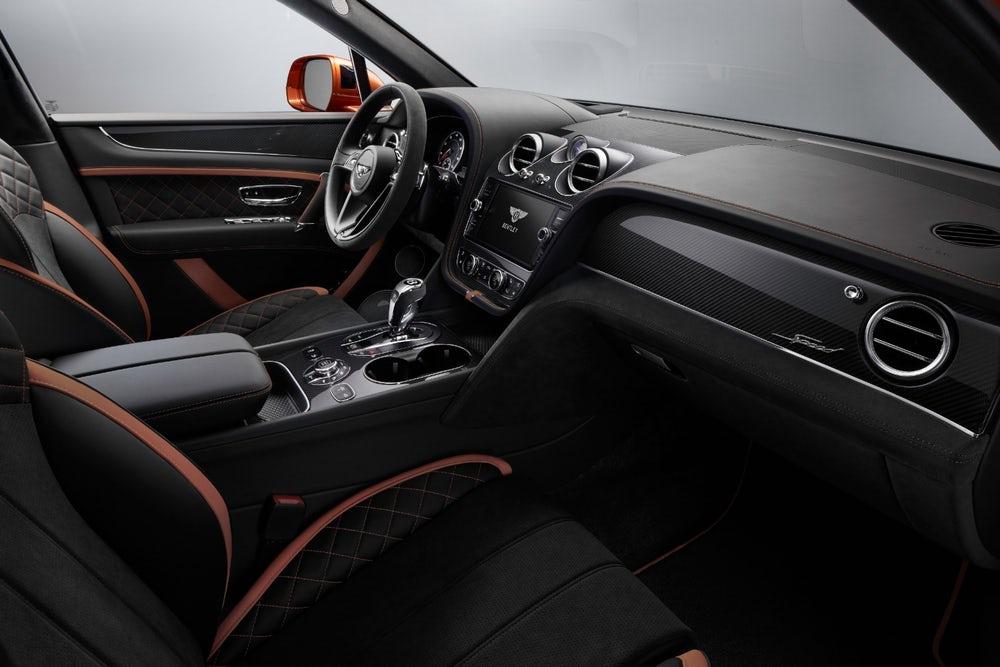 2020 Bentley Bentayga Speed SUV IInterior