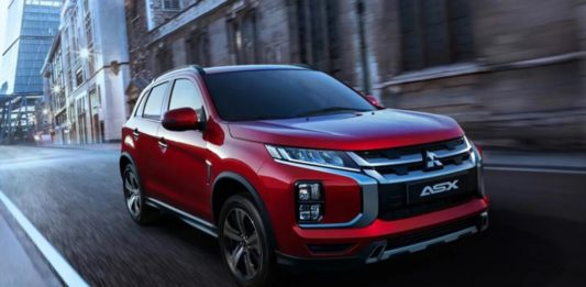 2020 ​Mistubishi ASX Facelift Revealed