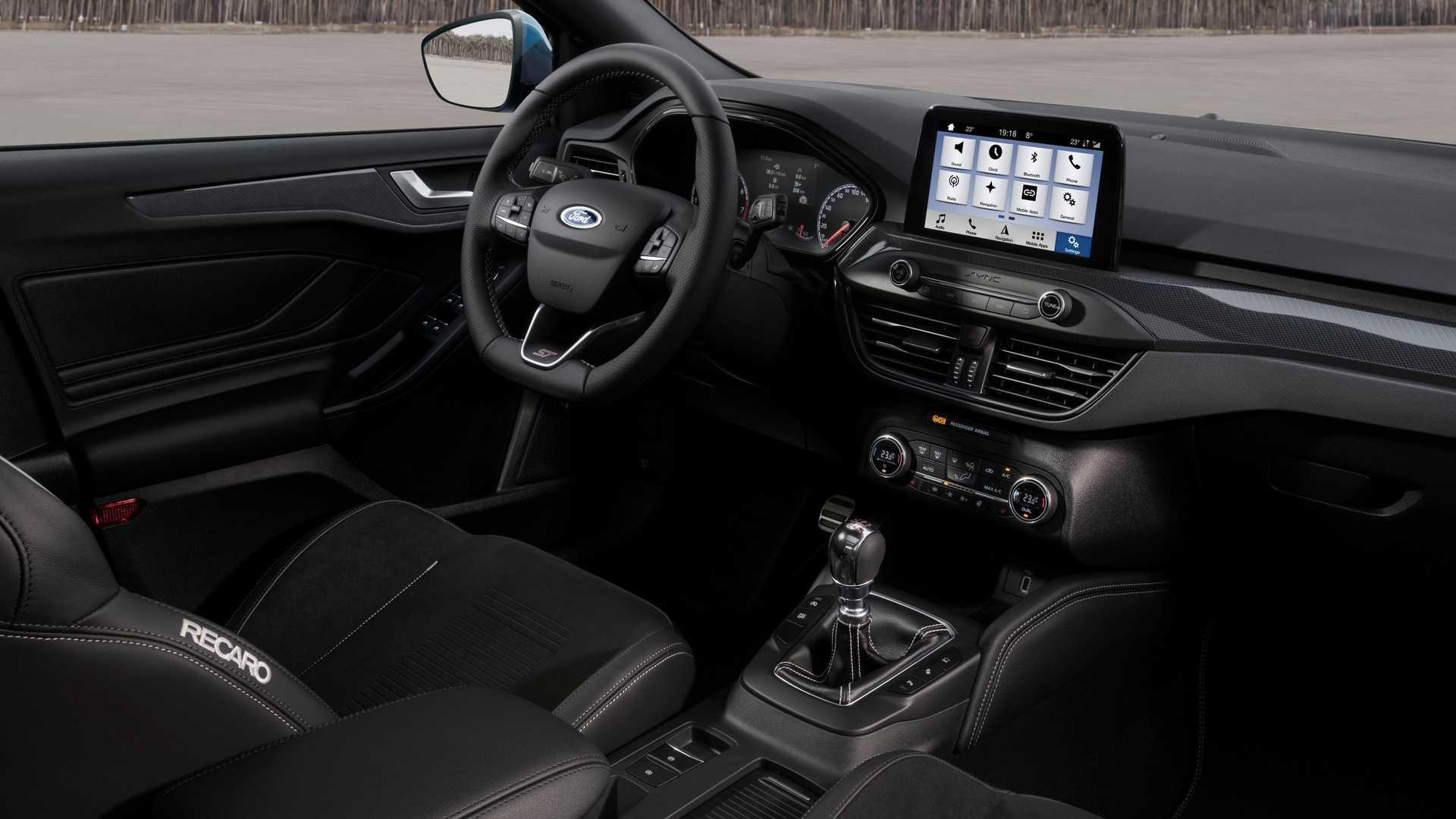 2019 Ford Focus ST Interior