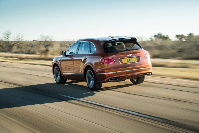 2020 Bentley Bentayga Speed, the Fastest SUV in the World