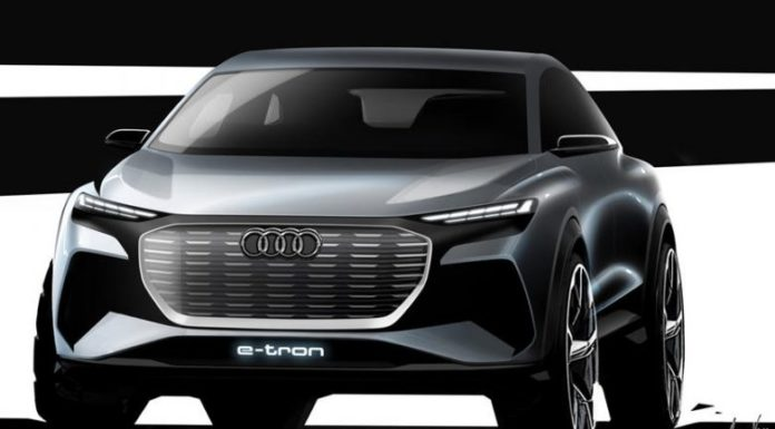 Audi Q4 e-Tron Appears as a Concept, a Few Days Before the Official Presentation (Photo)