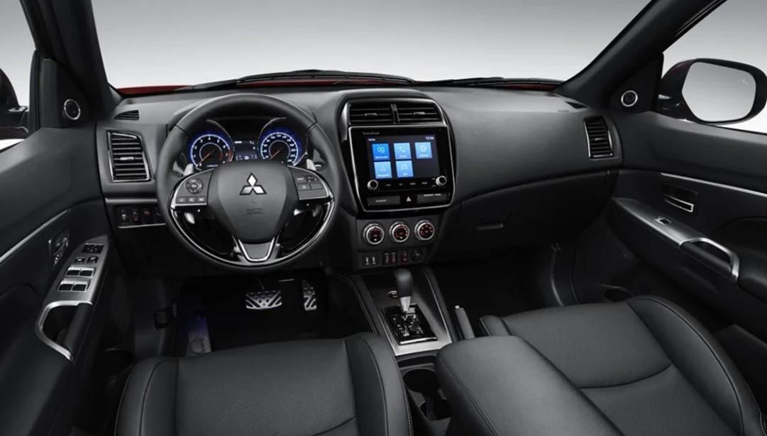 Mistubishi ASX Facelift Interior