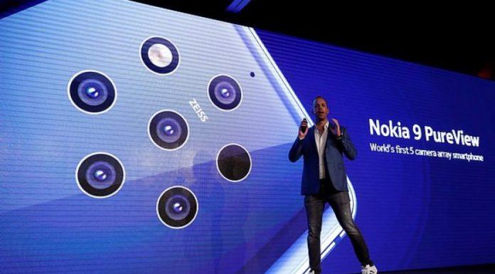 Nokia PureView smartphone with five-cameras revealed