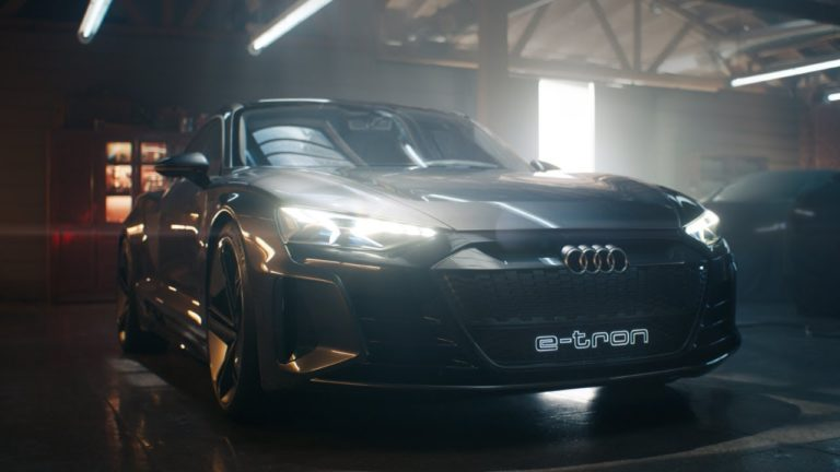 Audi features two new models from e-tron in the Super Bowl Ad (Video)