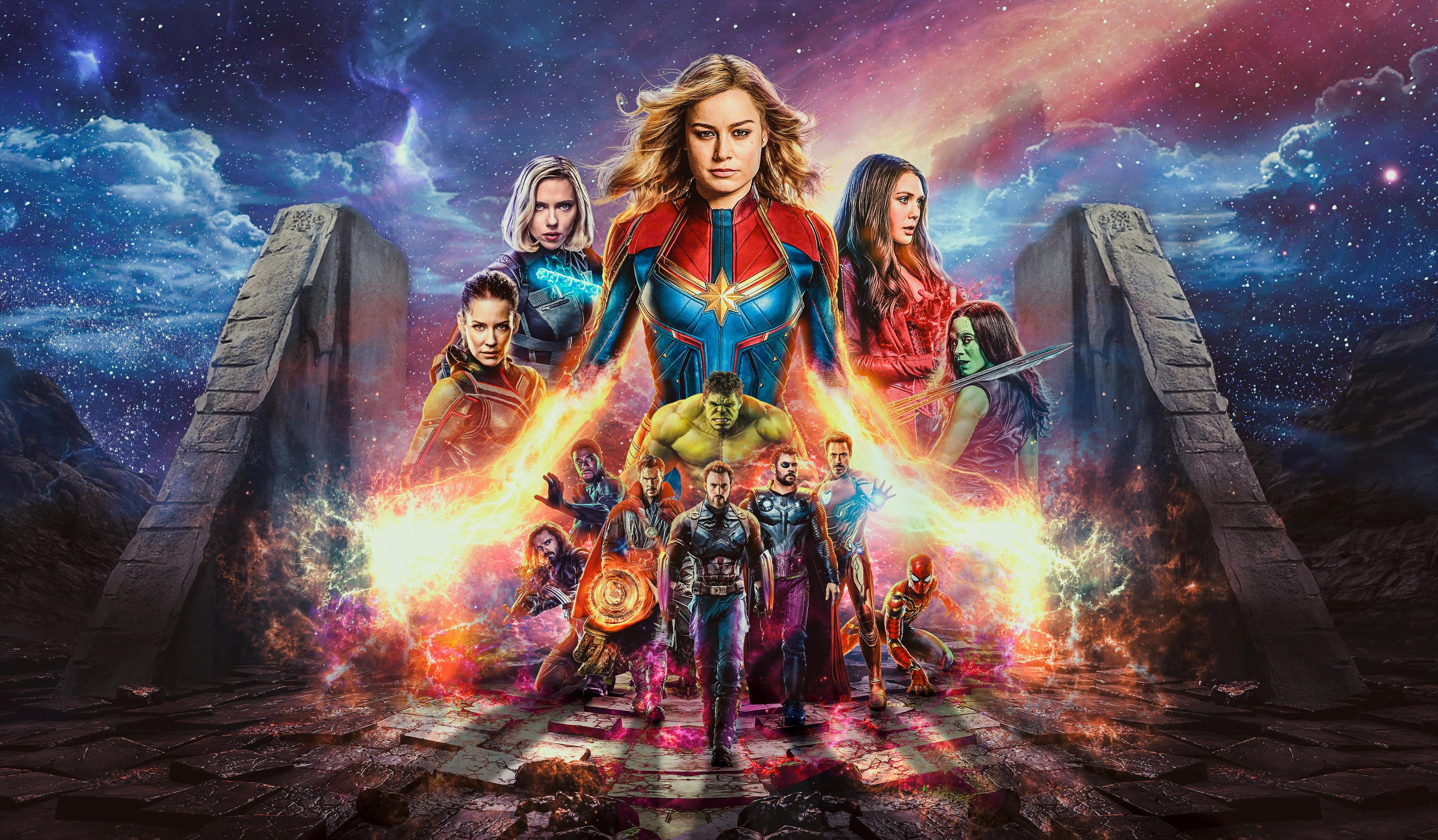 Avengers 4 Endgame 4k Hd Wallpapers Download Mobile Pc 2019