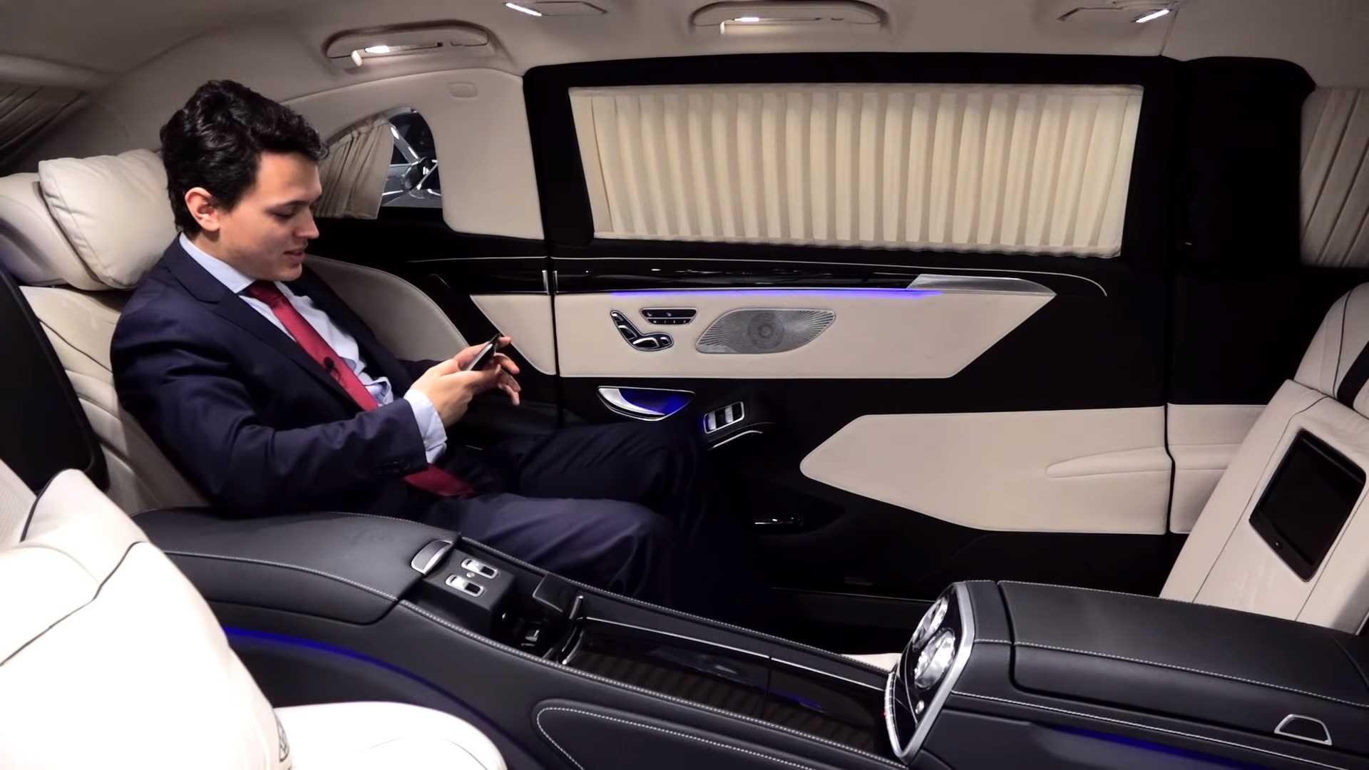 2019 Mercedes-Maybach S600 Pullman Guard Interior