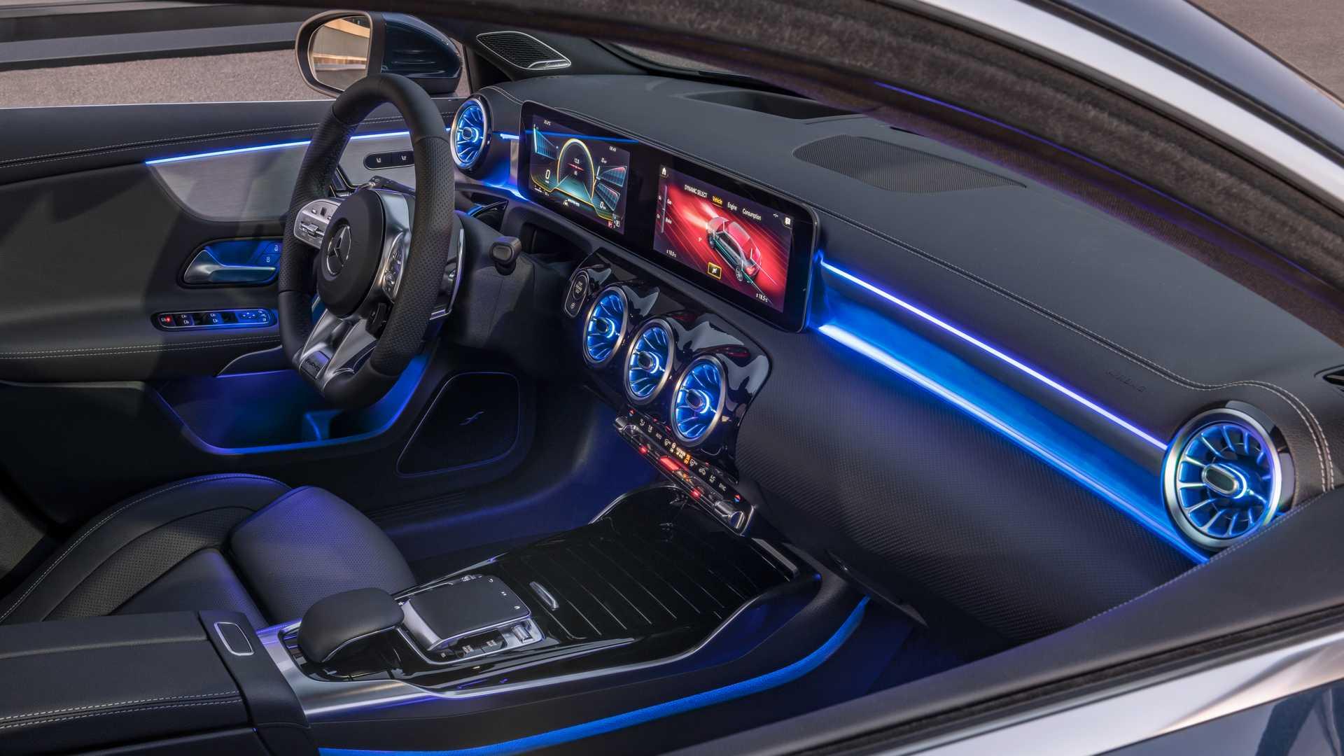 2020 Mercedes-AMG A35 Saloon Interior