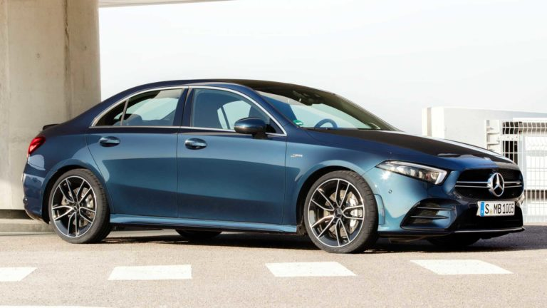 2020 Mercedes-AMG A35 Saloon revealed