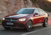 2020 Mercedes-Benz GLC Coupe with new tech and more power revealed