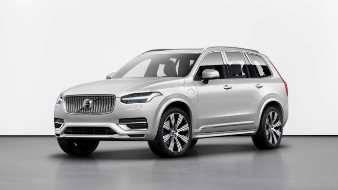 2020 Volvo XC90 Facelift Unveiled with a new system for fuel saving