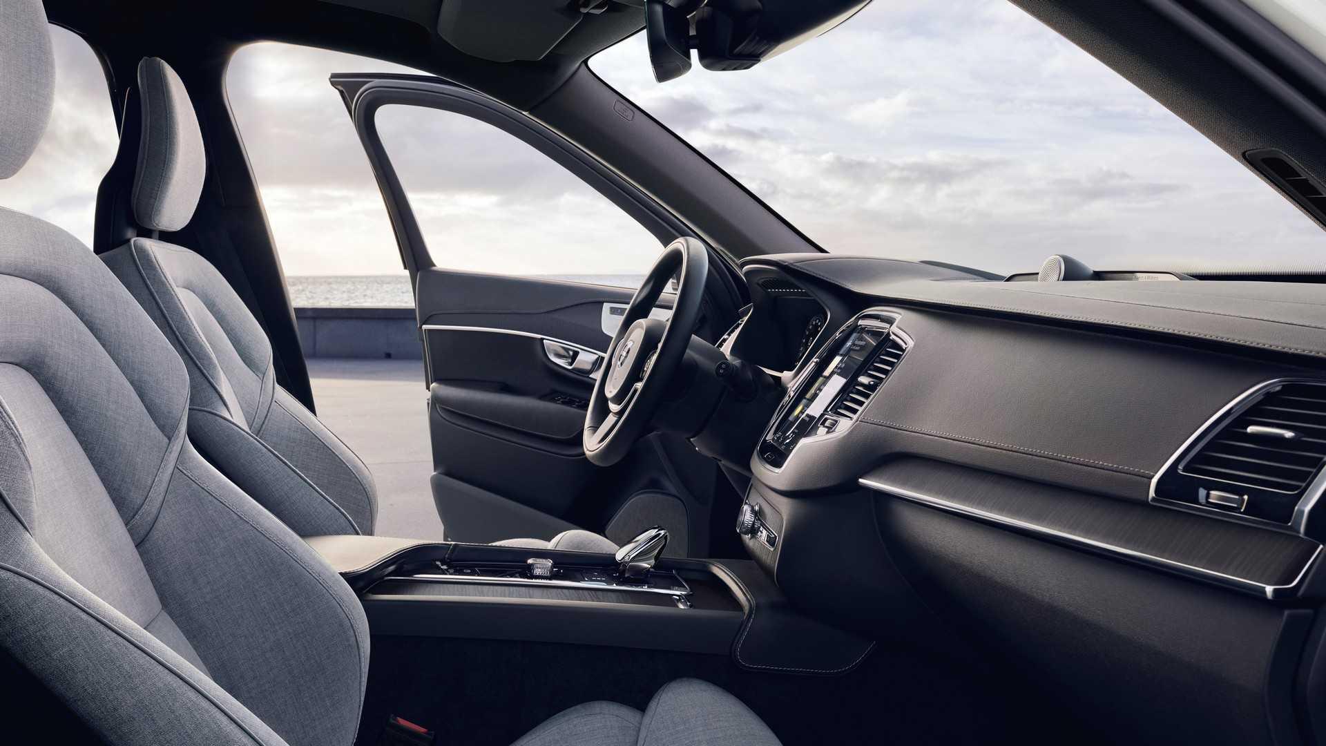 2020 Volvo XC90 facelift Interior