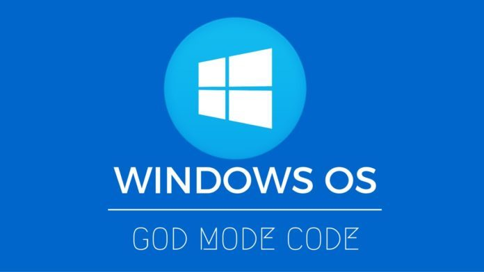 Activate GodMode On Windows 7, 8 and 10 (How To)