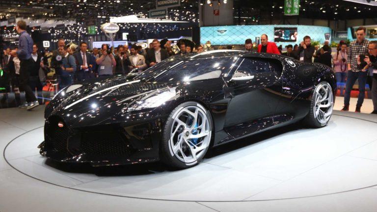 Bugatti La Voiture Noire – Most Expensive new Car Revealed