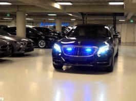 Meet the 2019 Mercedes-Maybach S600 Pullman Guard