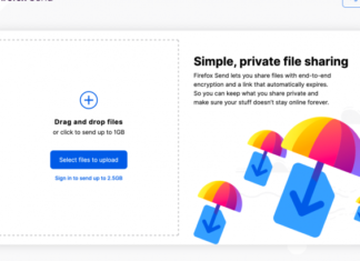 Mozilla launches encrypted file-sharing service