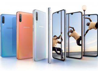 "Samsung Galaxy A70 revealed with 6.7"" Infinity-U display, triple cameras"