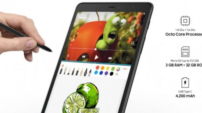 Samsung Unveils Galaxy Tab A 8-Inch secrecy