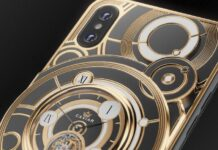 The limited edition of the iPhone XS comes with a mechanical clock at the back (PHOTO) - neOadviser