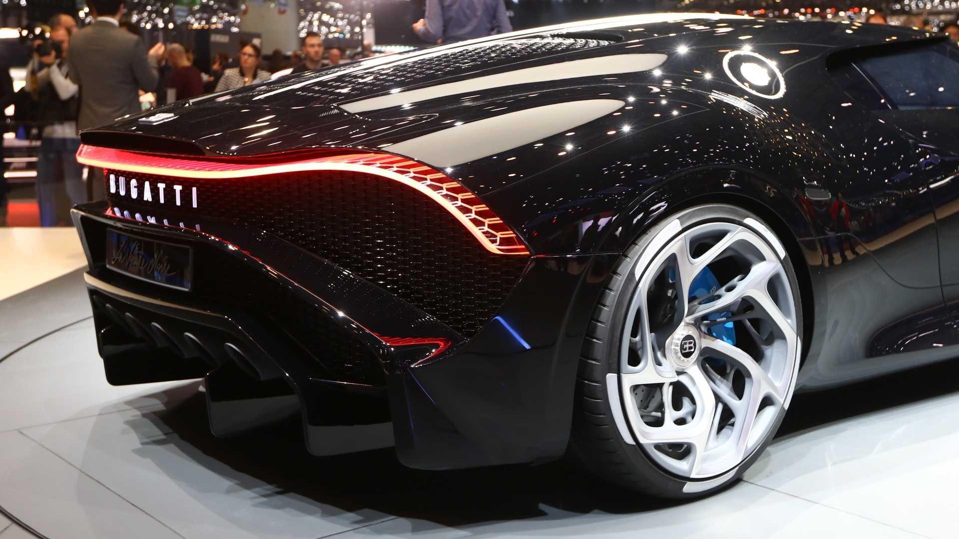 Bugatti La Voiture Noire Most Expensive New Car Revealed